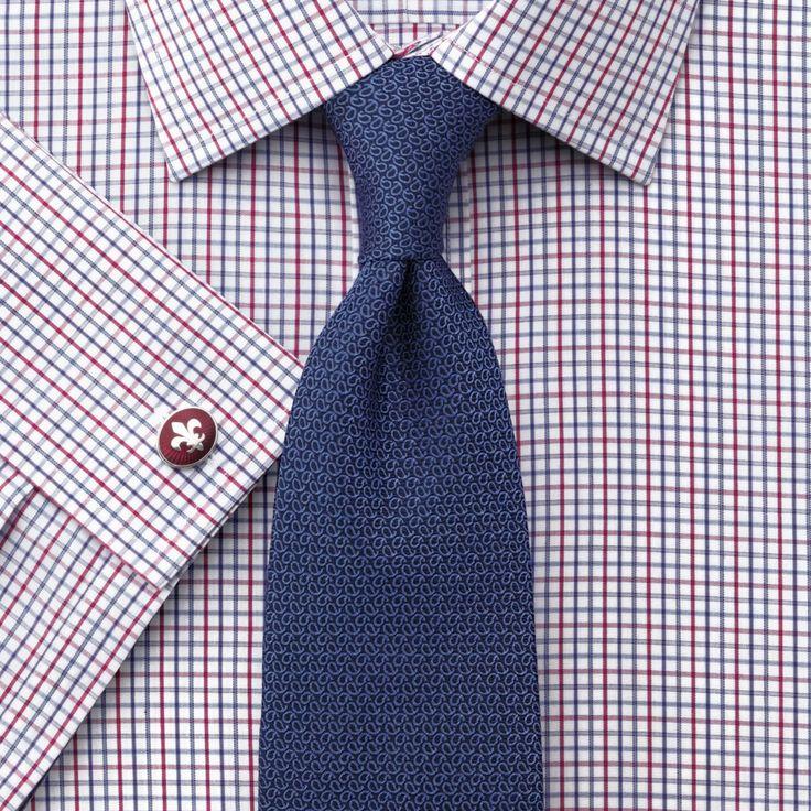 Small Multi Grid Check Non Iron Slim Fit Shirt Men 39 S