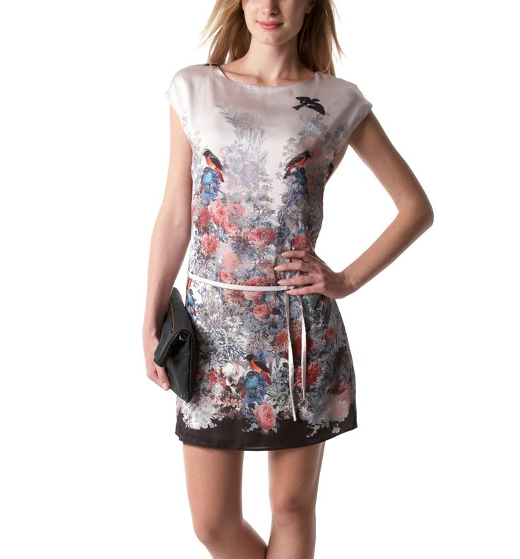 Printed dress - Ivory print - Women - Dresses - Promod: New addition to my wardrobe.