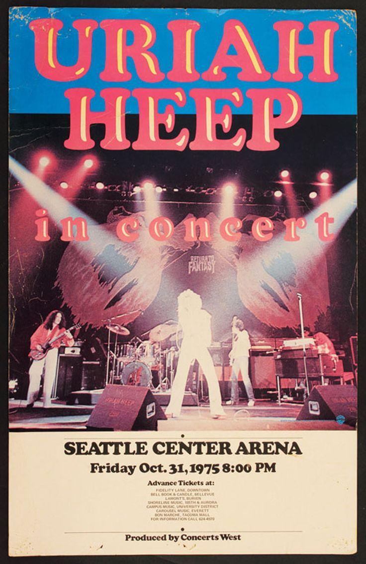 Urih Heep - Seattle Center Arena 1975