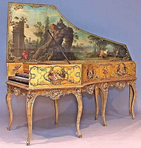 Harpsichord by Andreas Ruckers: Antiques Music Instruments, Andrea Rucker, Plan, Vintage Music, Music Museums, Mary Antoinette, Music Rooms, Furniture, Antiques Instruments