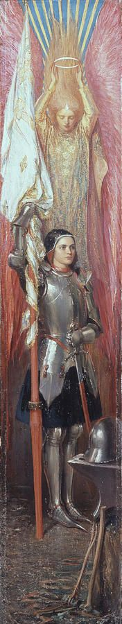 """joan of arc"" | theodore blake wirgman"