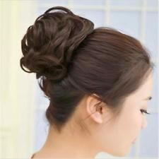 1 PC Women Vintage Curly Hair Holder Hairpiece Wig Scrunchie Hair Ring 3 Colors
