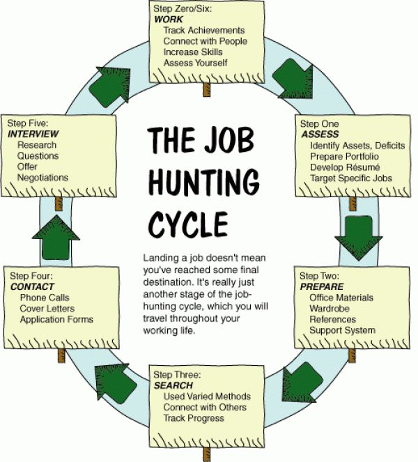 The Job Hunting Cycle.