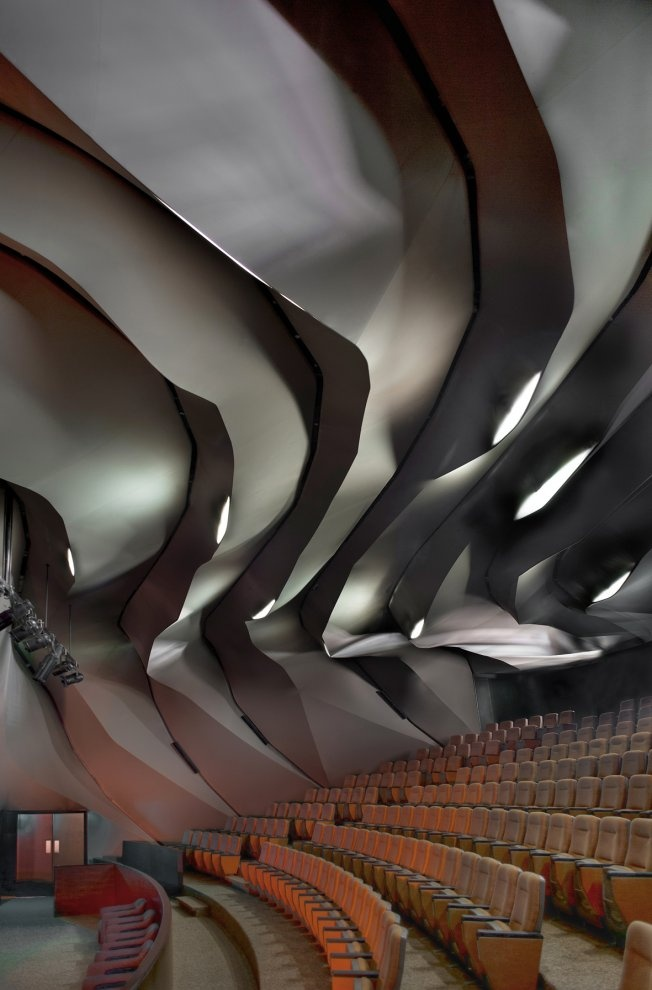 Masrah Al Qasba Theater, Magma Architecture