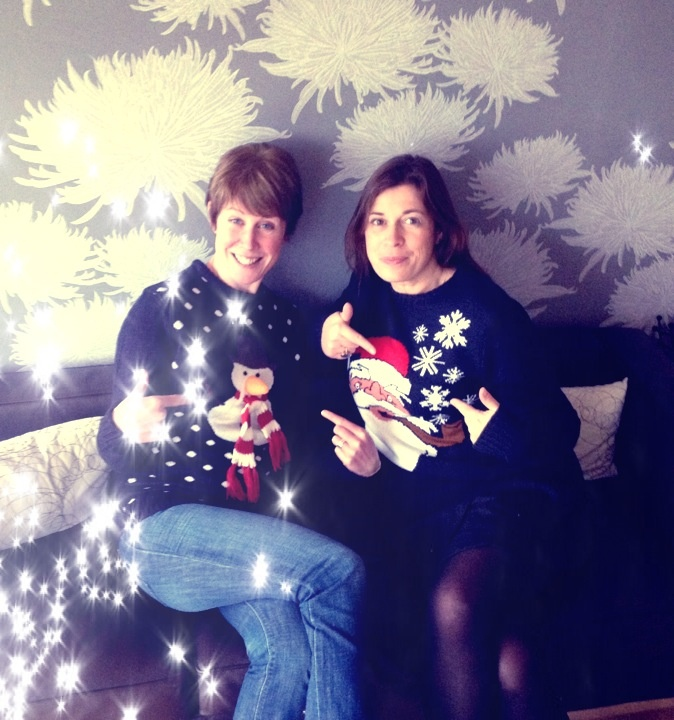 Christmas Jumper Day for Save The Children at The Wire HQ.