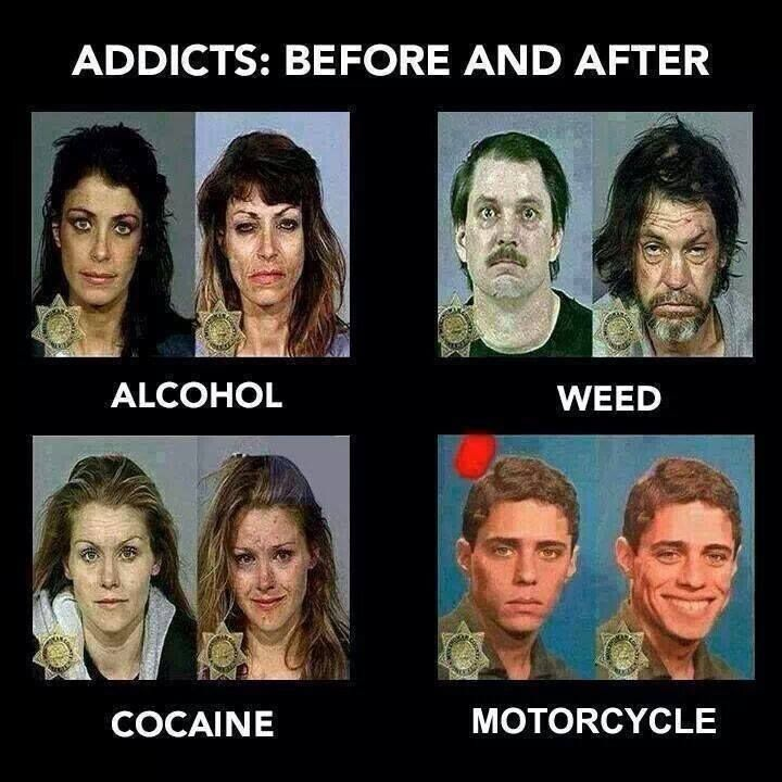 Results of addiction   Smoking Weed Before And After
