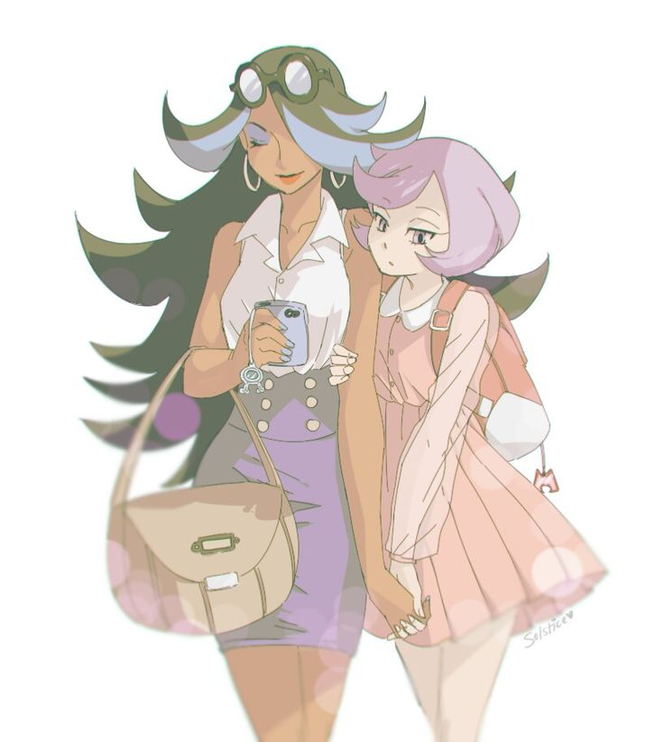ORAS I don't know what to make of Courtney.  She's...odd.  I haven't met the other lady yet coz I only just started Alpha :/