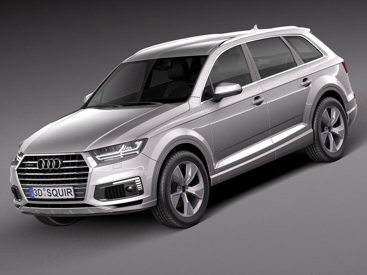 Audi 2017 Q7 3Ds - 3D Model