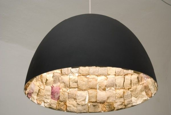 Hmm... Ceiling light lined with old teabags, anyone?