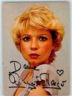 Ingrid Steeger Original Autogramm