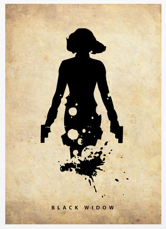 silhouetted poster of superheroes | The Avengers ...