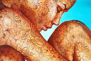 """Artist Jekaterina Razina """"In the sky"""""""