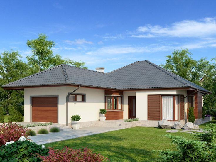 Projekt domu AC Dylan II G1 - DOM AF1-10 - gotowy projekt domu
