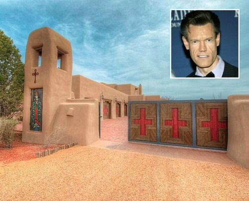 Randy Travis's Former Santa Fe Ranch For Sale