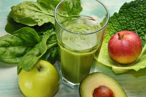 Green Drink Recipe-2 cups Spinach  1/4 head of celery  1/2 bunch parsley  3 carrots  3 apples  1/2 orange  1/2 Avocado  1/4 pineapple