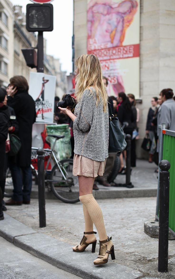 Paris Streetstyle: Street Style Women, Woman Fashion, Paris Fashion Week, Cities, Style Inspiration, Paris Streetstyl, Shorts, Knits Sweaters, Coast Fashion