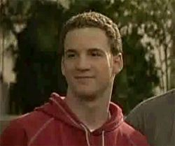 New party member! Tags: sarcastic boy meets world cory matthews fake smile ben savage pretending to care