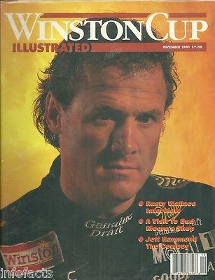 Winston Cup Illustrated 1991 December Rusty Wallace Jeff Hammond | eBay