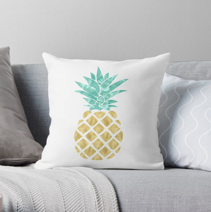 Pin By Juan Carlos Rodriguez Gutierre On Dream Room Tropical Throw Pillow Pineapple Room Decor Throw Pillows