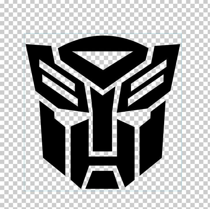 Transformers Autobots Bumblebee Optimus Prime Logo Png Autobot Black Black And White Brand Decal Autobots Logo Transformer Logo Transformers Autobots