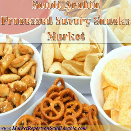 Processed #SavorySnacks Market in #SaudiArabia