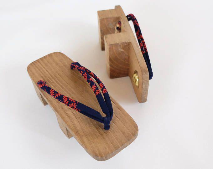 Japanese Handmade Geta Vintage Kimono Geta Shoes Lightweight Made Of Wood Traditional Japanese Shoes Geta Oriental Accessories