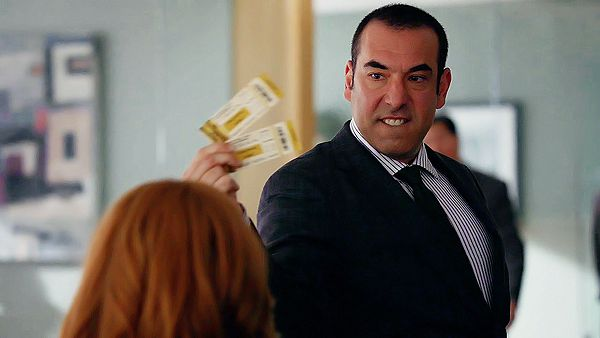 The winning cast of Suits — Rick Hoffman