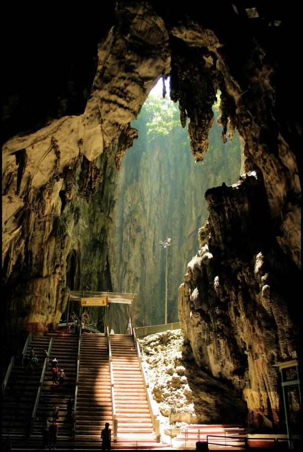 Batu Caves in Kuala Lampur. Loved Malaysia!