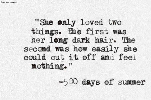 (500) days of Summer <3