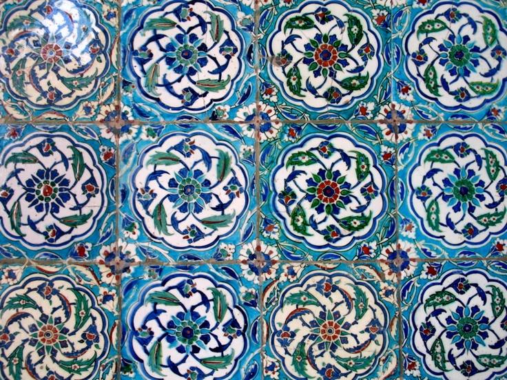 Tiles, Topkapi Palace, Istanbul