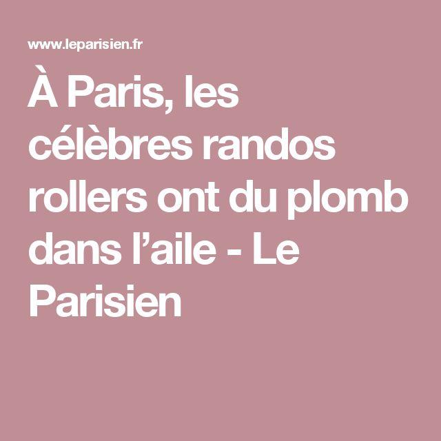 À Paris, les célèbres randos rollers ont du plomb dans l'aile - Le Parisien