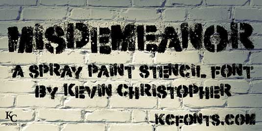 30 free graffiti fonts by Creative Bloq - http://www.creativebloq.com/typography/free-graffiti-fonts-11121160