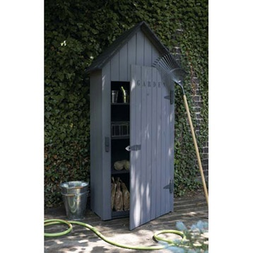 Armoires forests and merlin on pinterest for Armoire pvc jardin
