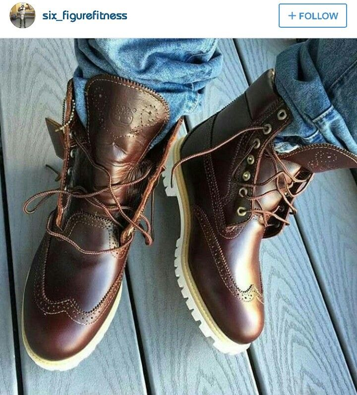 Wing Tip Timberland Boots!   Fashion   Accessories   Shoes, Boots, Mens  fashion d33f320dbea