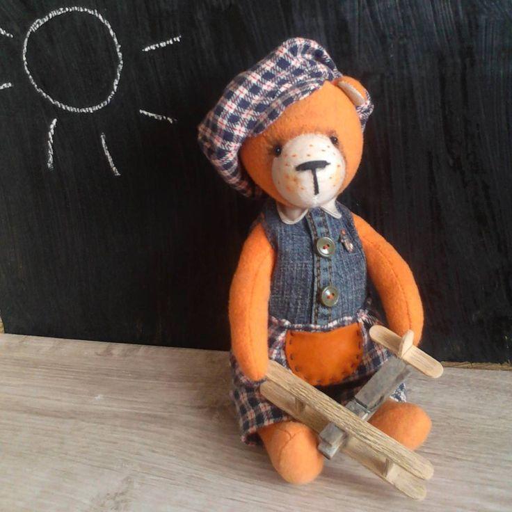 21 отметок «Нравится», 1 комментариев — 🐻Куклёны от Илоны (@ilona_frolova) в Instagram: «Рыжий мальчик Родион #kukleny #teddybear #red_teddy #grodnogifts #куклёны_от_илоны #подаркидлярыжих…»