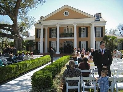 Southern Bell Wedding -- (If I'm not mistaken, I shot a wedding here before.  Very nice.)
