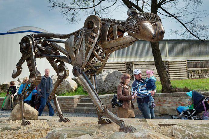 Kovozoo Staré Město - originální zoo na Slovácku