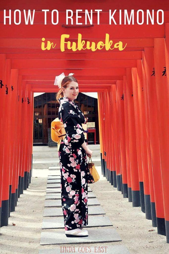 How to Rent Kimono in Fukuoka | Linda Goes East