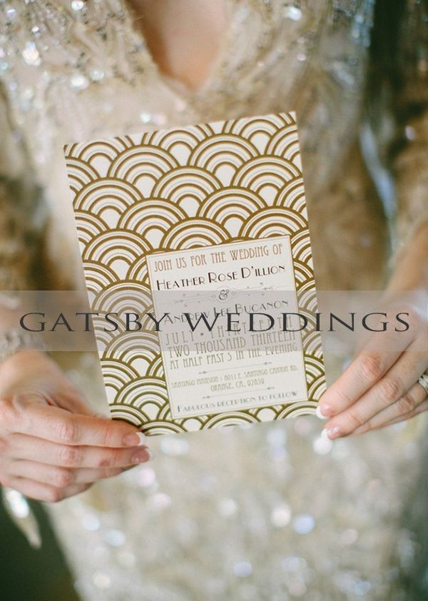 Gatsby Themed Wedding; Old Hollywood Glam Wedding Pinned By Wedding  Specialists Http://