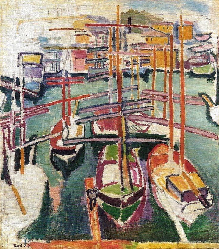 ALONGTIMEALONE: terminusantequem: Raoul Dufy (French, 1877-1953),...