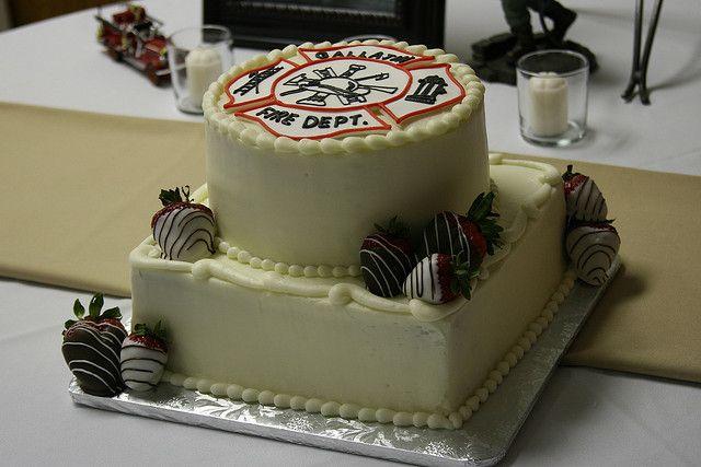Firefighter Groom's Cake | fireman cake | Flickr - Photo Sharing!