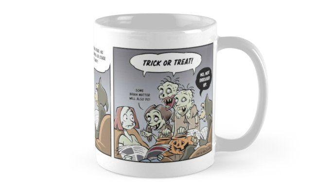 """The Halloween Mug"" Mugs by J. van Santen | Redbubble"