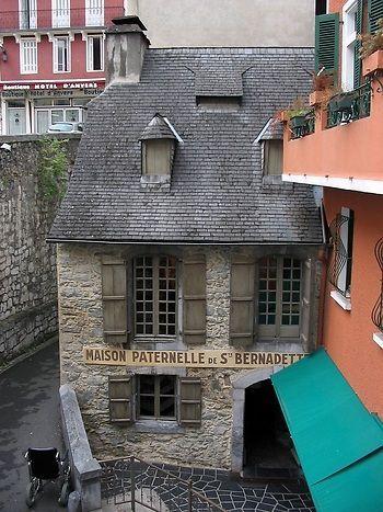 France Travel Inspiration - House of St. Bernadette - Lourdes, France  Find Super Cheap International Flights to Lourdes, France ✈✈✈ https://thedecisionmoment.com/cheap-flights-to-europe-france-lourdes/