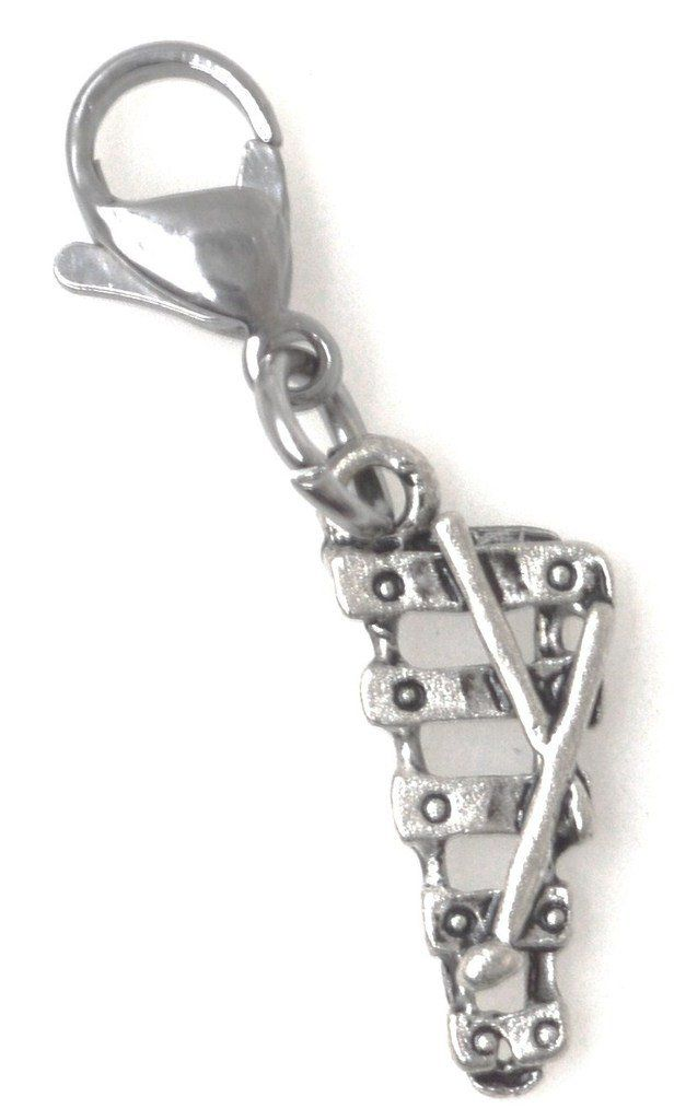 Xylophone Instrument Clip on Charm Perfect for Necklaces and Bracelets 103Aj Its All About...You
