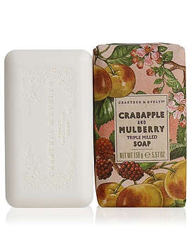 Heritage Soaps Crabapple & Mulberry Triple Milled Soap    French Milled Soaps | Crabtree & Evelyn