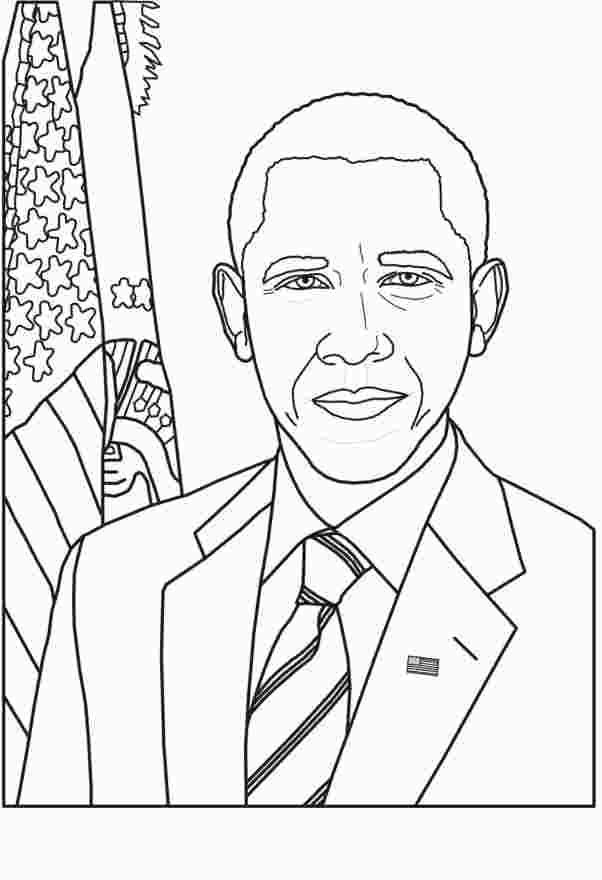Barack Obama Coloring Page Coloring Pages Coloring Pages For
