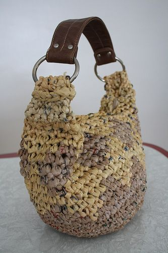 Crocheting with plastic bags; a six year journey | zween
