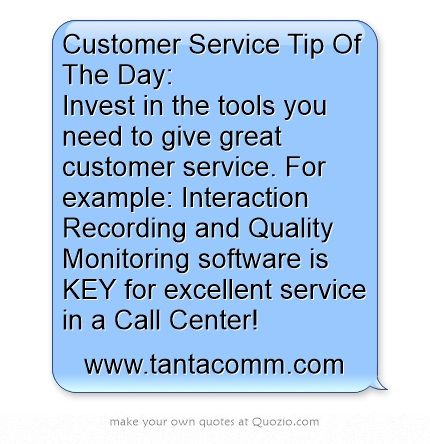 customer service tip of the day invest in the tools you need to