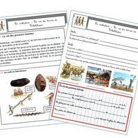 Edit du 26/09 : ajout de l'évaluation et de la fiche de préparation à l'évaluation Cette année, nous décloisonnons dans l'école et je travaille donc l'histoire avec les CE2. Voici les fiches...