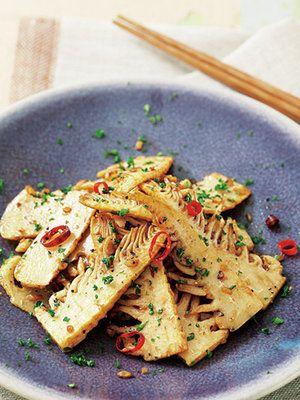 【ELLE a table】たけのこ和風バター炒めレシピ|エル・オンライン